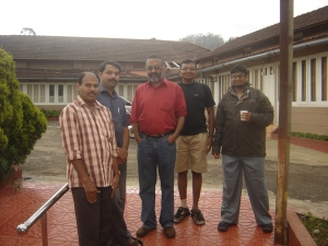 Padmanathan, Bharati, Kenneth, Ravi and me