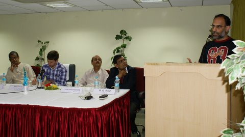 Mr. Ranjit addressing the workshop