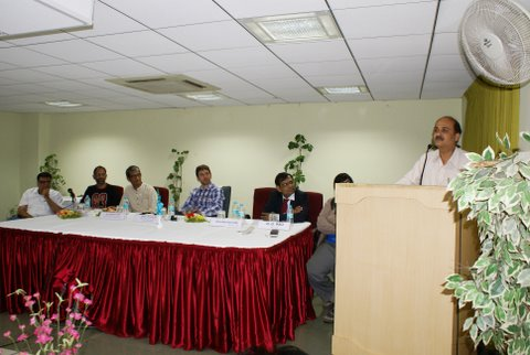 Mr. R.G. Rao addressing the workshop