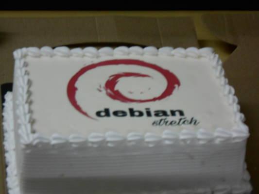 Debian 9 cake