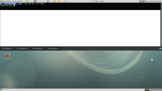 Guake, dark theme and gtk3