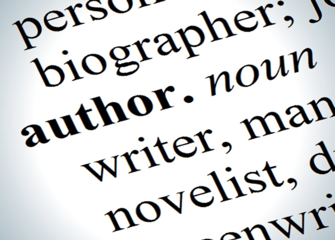 Meaning of author