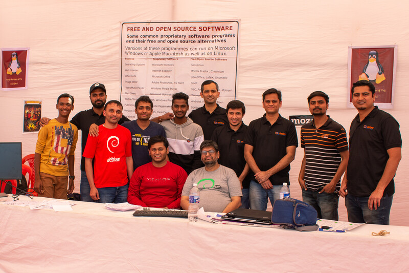 Another picture with the zimbra team